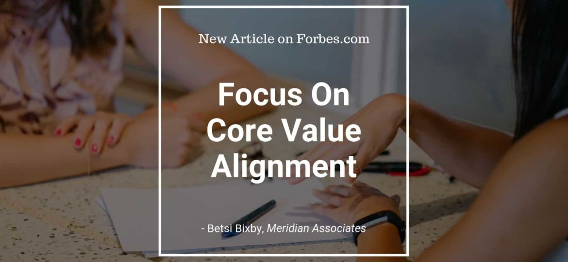 Focus on Core Value